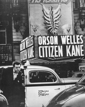 Welles at Citizen Kane